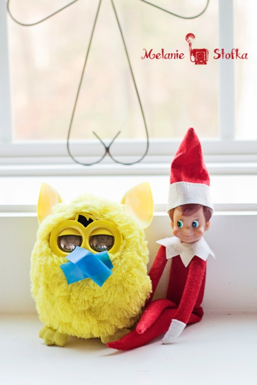You can't create mischief with Furby.  He can't stay quiet!