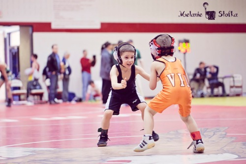 Itty Bitty has to be the teeniest most cutest wrestler EVER!