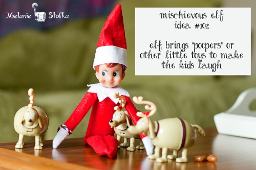 Elves love potty humor too