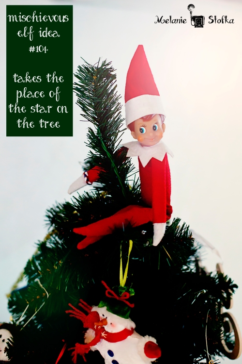 Elf on the Shelf tree topper