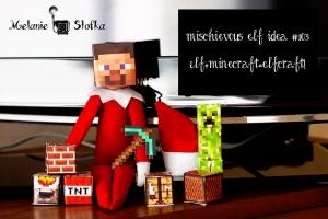 Elves love minecraft too!