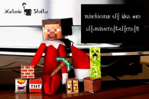 Elves love minecraft too!