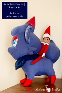 Elf idea #101 - hang with some pokemon.