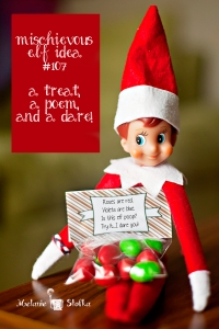 Roses are red. Violets are blue. Is this elf poop? Try it... I dare you!
