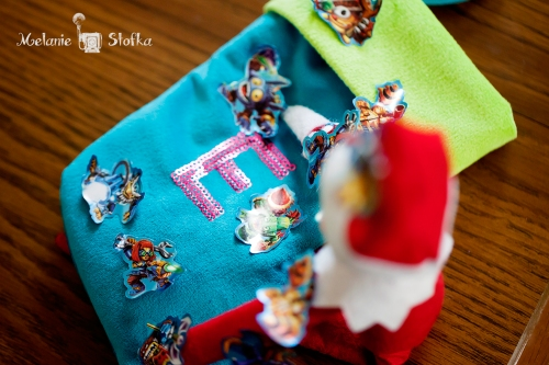 Love Bug's stocking looks fabulous