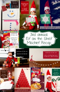 Looking back at over 100 Elf on the Shelf mischievous ideas!