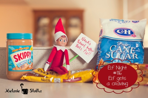 Elf on the Shelf gets a craving for a family favorite recipe!